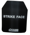 NIJ III AR500 stainless steel anti-trauma ballistic plate (shooter cut)